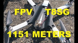 MJX BUGS 3 F100 1151 METERS FPV RUN JUMPER T8SG EACHINE OTG