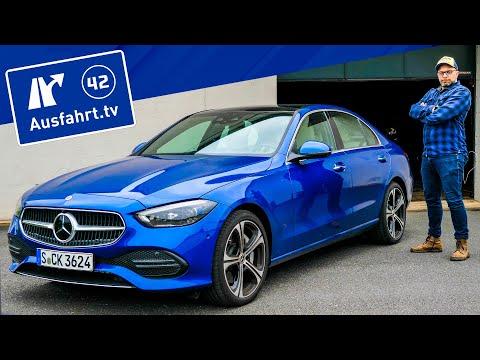 2021 Mercedes-Benz C300 4MATIC 9G-Tronic - Kaufberatung, Test deutsch, Review, Fahrbericht