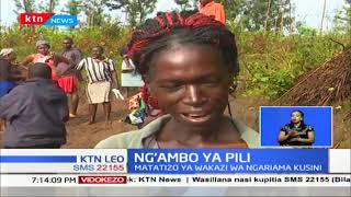 Changamoto za wakazi na wanafunzi wa Ngariama, Kirinyaga, katika kuvuka Mto Nyamindi
