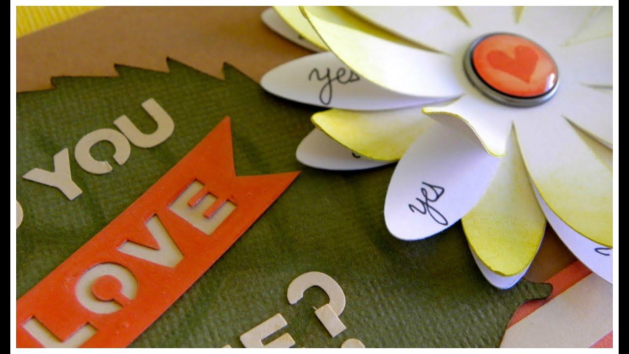 LOVE ME - VALENTINE CARD - TARJETA SAN VALENTINE MARGARITA