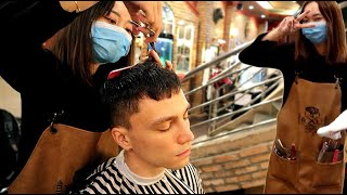 ASMR Best Hair Cut In My Life In Luxury Vietnamese Barbershop And Head Massage