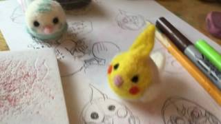 How To Make Needle Felt Birds!!!