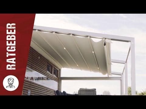 Sonnenschutz und Beschattung von Terrasse und Balkon - So muss das!    steda