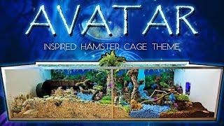 🌎 Kashis AVATAR Inspired Hamster Cage Tour!