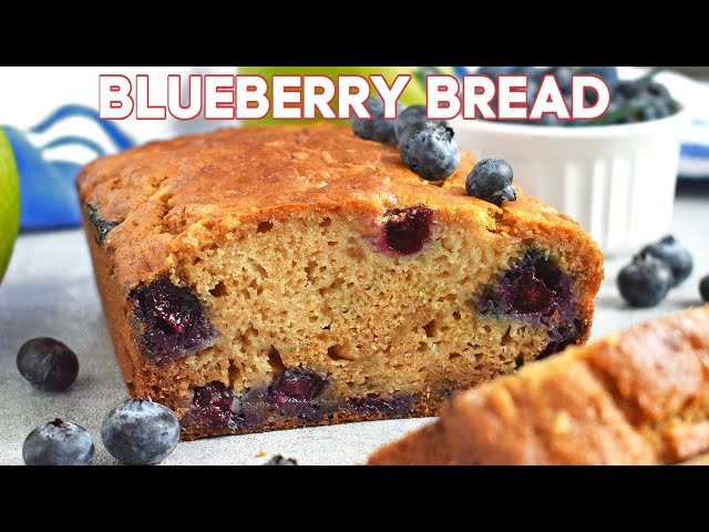 Apple Blueberry Honey Bread Recipe + Video