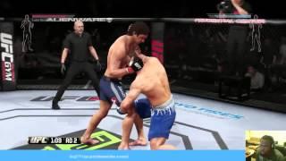 UFC - UFC Gameplay - STILL RUSTY - EA Sports UFC Gameplay | UFC Fights 2014