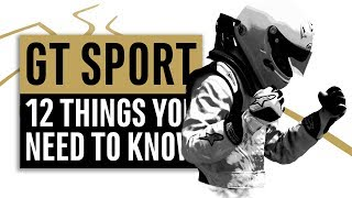Gran Turismo Sport | 12 Things You Need To Know