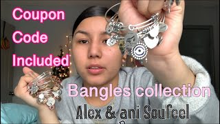 Bangle Bracelet Collection||COUPON CODE Ft. Soufeel