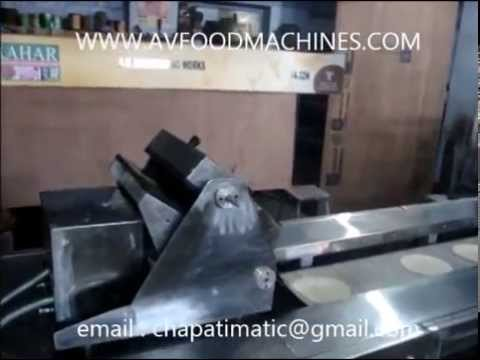 Chapati Making Machine Pressing Type