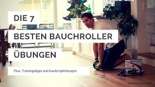 Bauchroller Übungen, häufige Fehler, Trainings- und Kauftipps