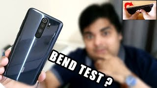 Redmi Note 8 Pro Bend Test, Heating Issue - IS IT WATER