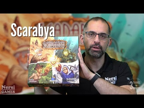3 Things in 3 Minutes: Scarabya Review