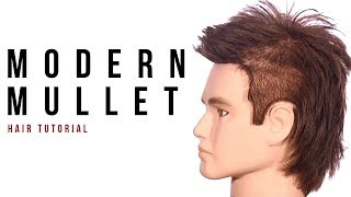 Modern Mullet Haircut Tutorial - TheSalonGuy