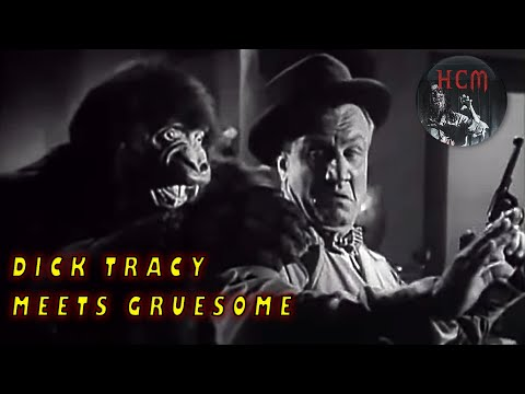 Dick Tracy Meets Gruesome | Full movie | Dick Tracy Meets Karloff | Dick Tracy's Amazing Adventure