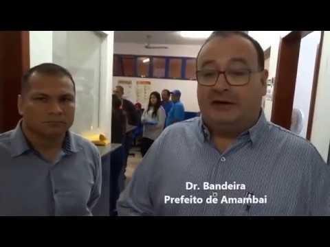 Dr  Bandeira lança o Programa Equipe do Prefeito em Amambai
