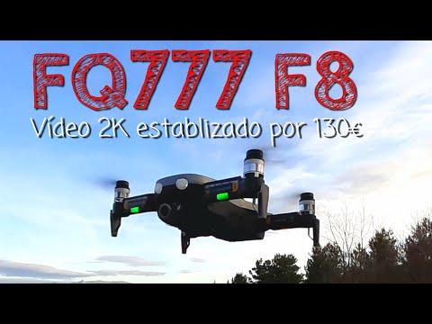 ¿Un drone con gimbal por 130€? Sí, el FQ777 F8