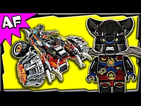 Vidéo LEGO Chima 70222 : Le bulldozer panthère