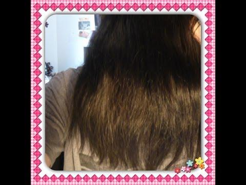 Wie es besser ist, das Öl vom Haar auszuwaschen