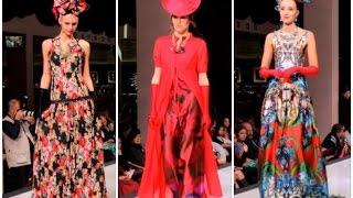 Что модно носить летом 2015 ♥ Показ летних шелковых сарафанов и платьев от Вячеслава Зайцева