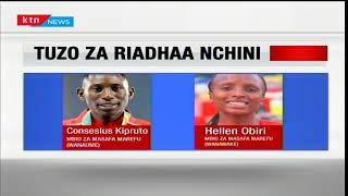 Helen Obiri na Elijah Manangoi washinda taji la wanaridha bora wa mwaka 2017: Dira ya Michezo