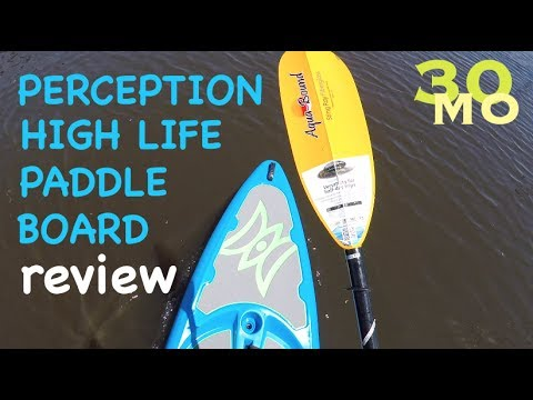 REVIEW – Perception High Life 11.0 paddle board hybrid – Tips w/ Ty