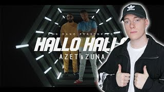 🤔 Heftige Hook, Aber: AZET & ZUNA   HALLO HALLO (prod. By JUGGLERZ) ReactionReaktion