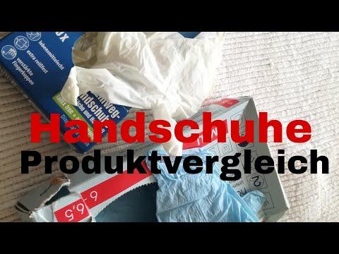 Produktvergleich Einmalhandschuhe|Erste Hilfe Österreich(Valentin)
