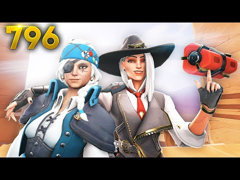 *AMAZING* ANA + ASHE STRAT!! | Overwatch Daily Moments Ep.796 (Funny and Random Moments)