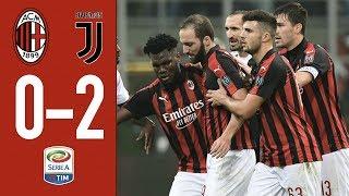 Highlights AC Milan 0-2 Juventus - Matchday 12 Serie A 2018/19