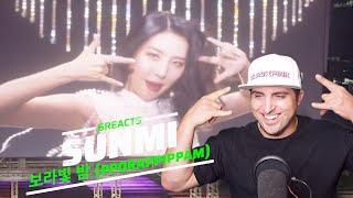 선미(SUNMI) - 보라빛 밤 (pporappippam) Music Video Reaction