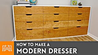 How to Make a Modern Dresser // Woodworking | I Like To Make Stuff