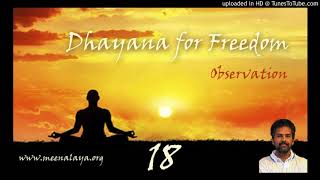 Dhyana For Freedom - Session 18
