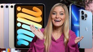 iPhone 13, iPad mini and Apple Watch Series 7 Updates! #AppleEvent