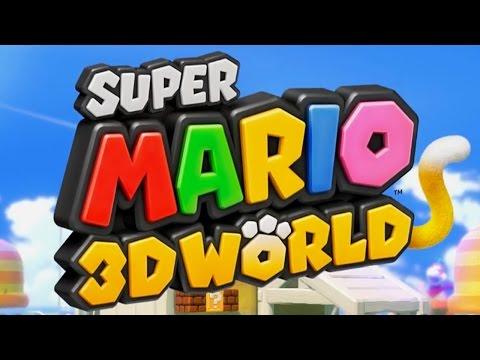 Super Mario 3D World - Full Game Walkthrough (All Green Stars & Stamps)