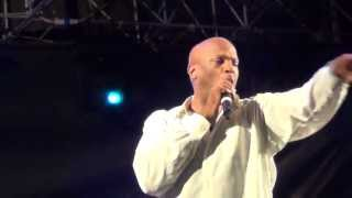 "Donnie McClurkin - Enters Stage - ""Days of Elijah"" & ""No God Like Jehovah"" -June 15. 2013"