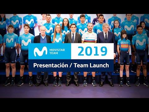 #MovistarTeam2019: Presentacion Oficial