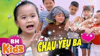 Cháu Yêu Bà ✿ Bà Ơi Bà ♫ Nhạc Thiếu Nhi Bé MinChu - Thần Đồng Âm Nhạc Nhí Việt Nam