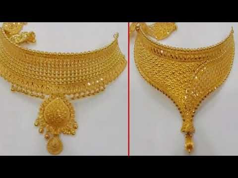 Gold Necklace Set at Best Price in India