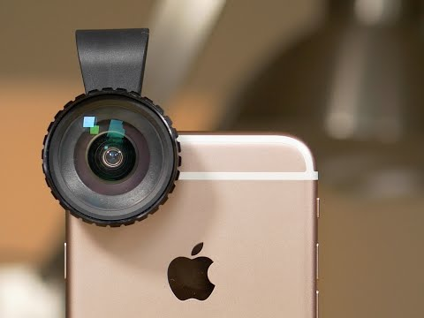 Review: Aukey Optic Pro Wide-Angle camera lens