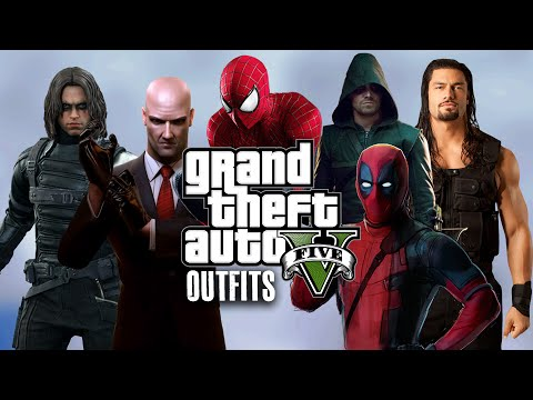 GTA 5 Online - Outfits (BEST Of 2015)
