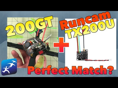 Testing a KingKong LDARC 200GT with Runcam TX200U VTX with Tramp control, Does it even work?