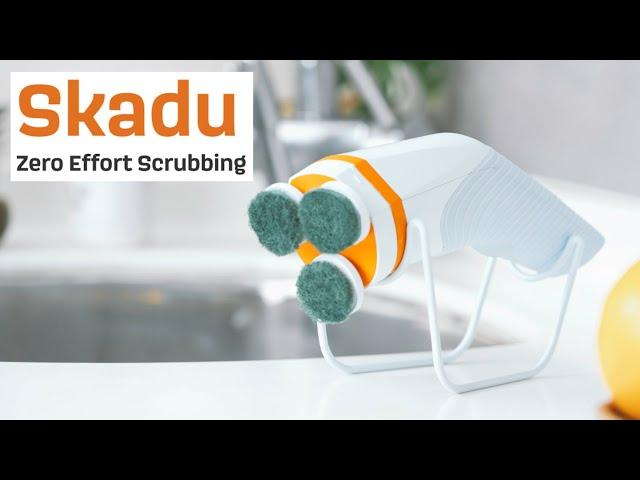 Электрощетка Skadu уничтожит всю грязь вдоме