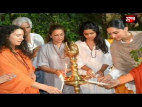 ऋषिकेश में Deepika Padukone ने की आरती