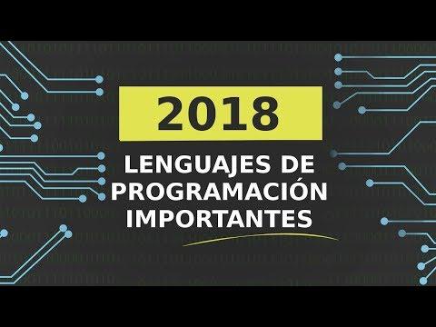 Lenguajes de Programación importantes del 2018