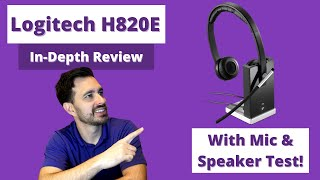 Logitech H820E In-Depth Review With Mic & Speaker Test!