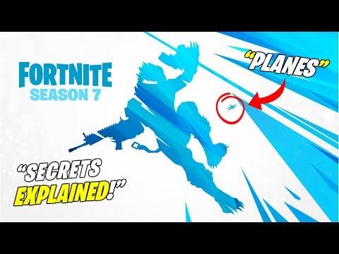 New Fortnite Season 7 Teaser 3 Explained Secrets Planes