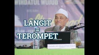 Lucu , Teori Langit Seperti Terompet - Ustadz Ali Ahmad Bin Umar