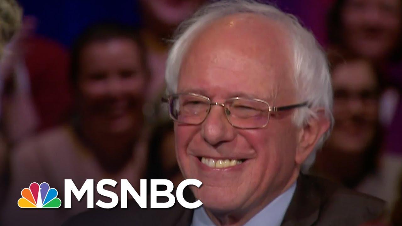 Bernie Sanders: 'Am I Really Larry David?' | Democratic Forum | MSNBC thumbnail