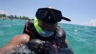Snorkling in Mexico 2016