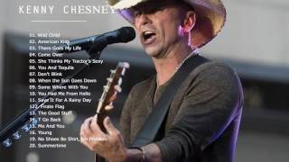 Top 20 Kenny Chesney Playlist   The Very Best Of Kenny Chesney All Songs [Free Cover*]